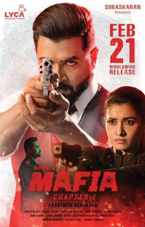Mafia Tamil Movie Posters