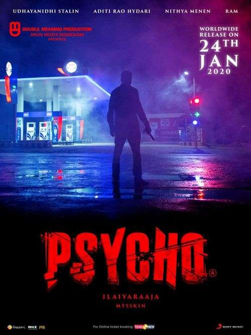 Psycho Tamil Movie Posters