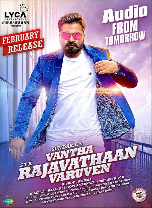 Vantha Rajavathaan Varuven Tamil Movie Posters