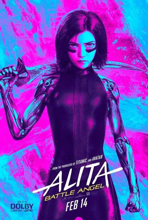 Alita: Battle Angel Tamil Movie Posters