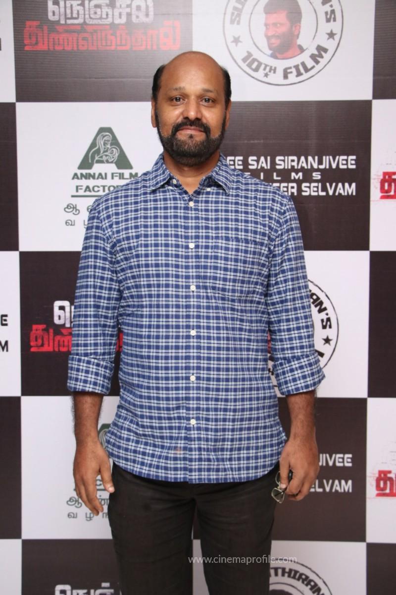 Nenjil Thunivirundhal Movie Audio Launch Photo Stills 21
