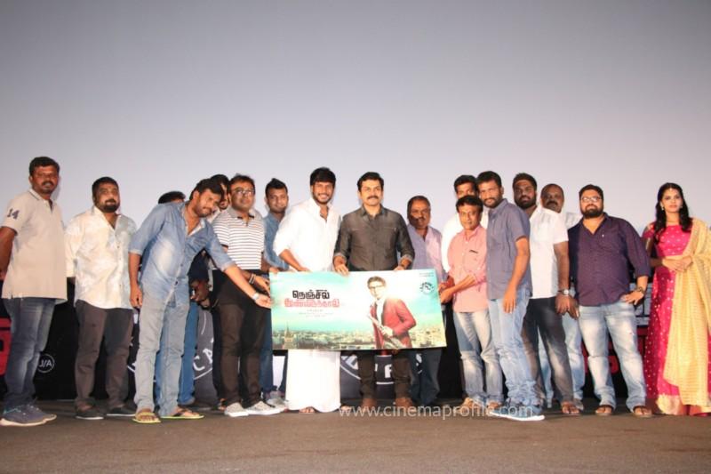 Nenjil Thunivirundhal Movie Audio Launch Photo Stills 31
