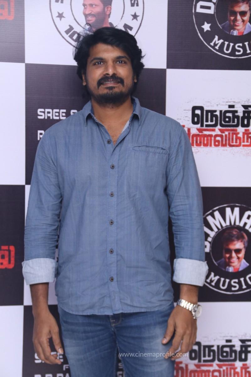 Nenjil Thunivirundhal Movie Audio Launch Photo Stills
