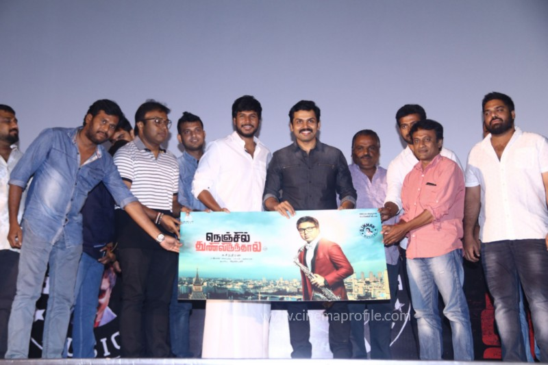 Nenjil Thunivirundhal Movie Audio Launch Photo Stills 29