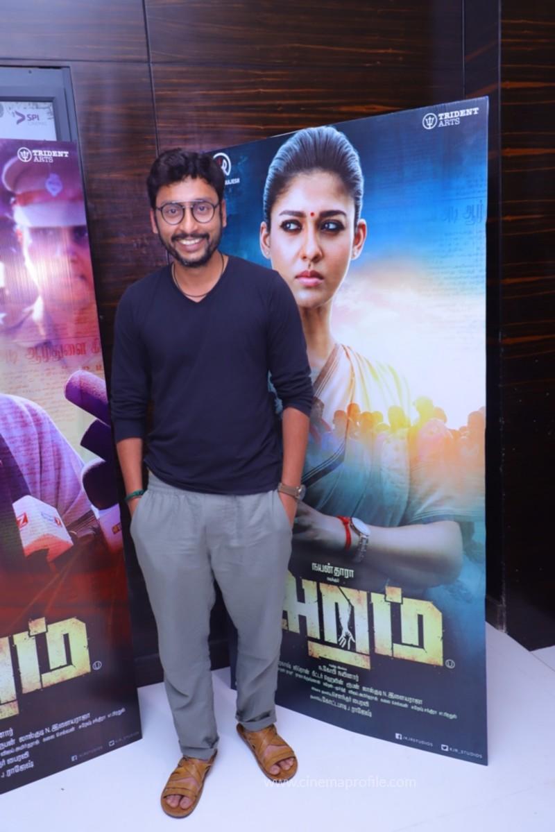Nayanthara's Aramm Movie Premier Show Event Photo Gallery 4