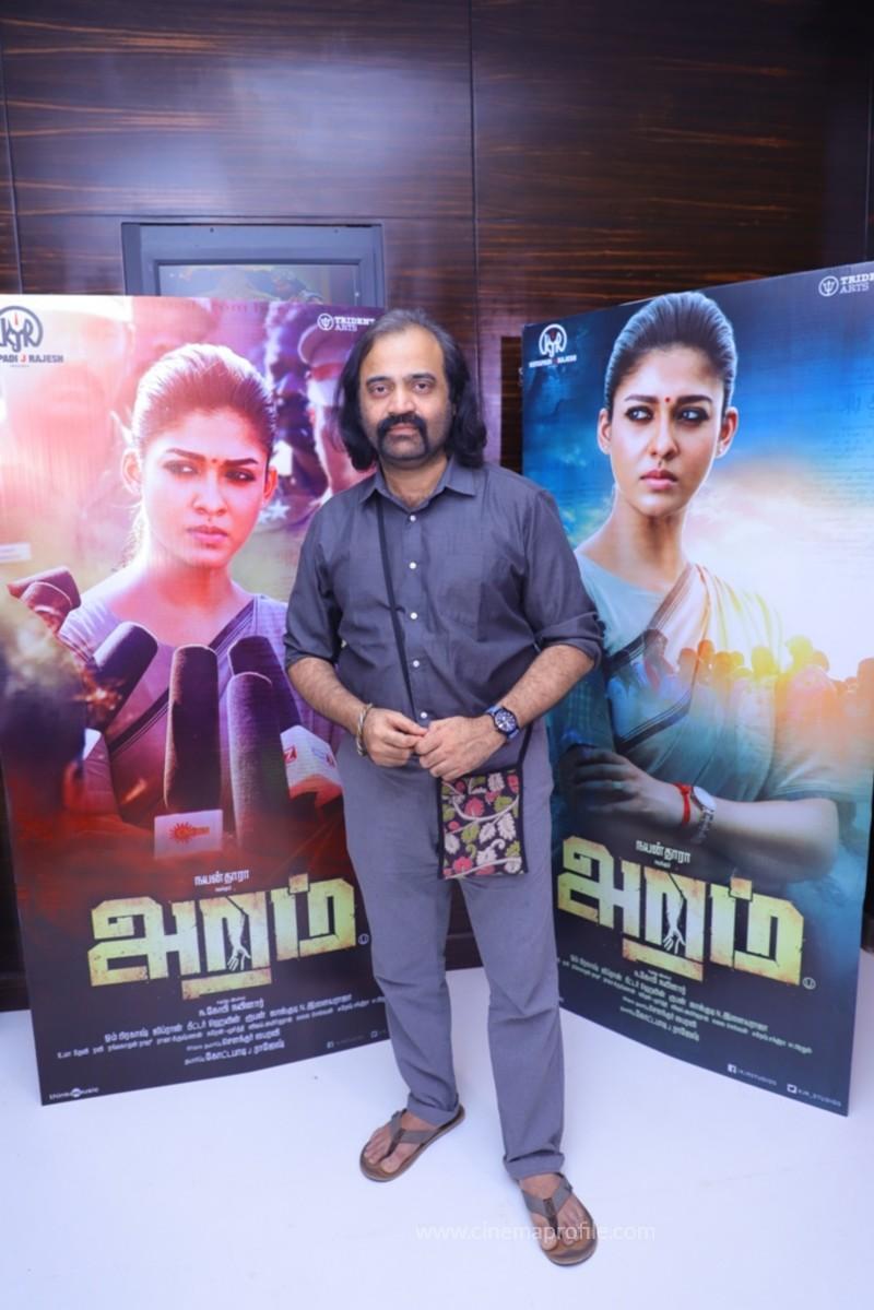 Nayanthara's Aramm Movie Premier Show Event Photo Gallery 6