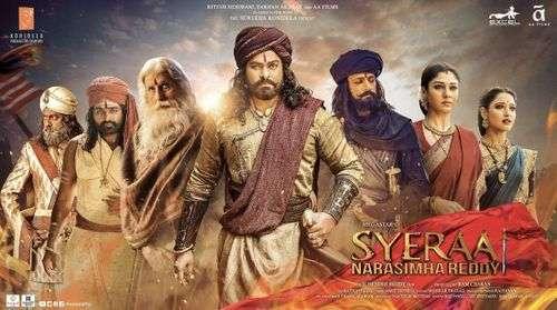Sye Raa Narasimha Reddy Tamil Movie Posters 6