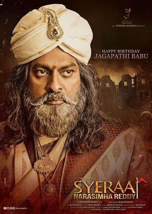Sye Raa Narasimha Reddy Tamil Movie Posters