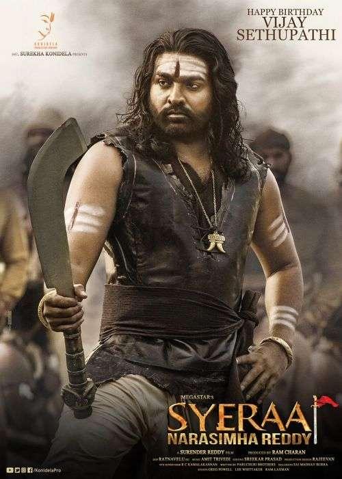 Sye Raa Narasimha Reddy Tamil Movie Posters 4