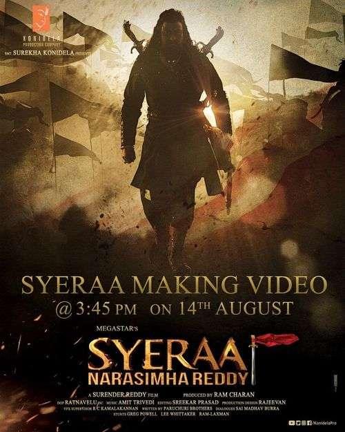 Sye Raa Narasimha Reddy Tamil Movie Posters 3