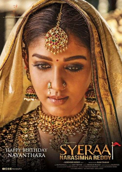 Sye Raa Narasimha Reddy Tamil Movie Posters 9