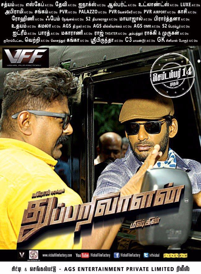 Thupparivaalan Movie Posters - HD Images - HQ Stills 2