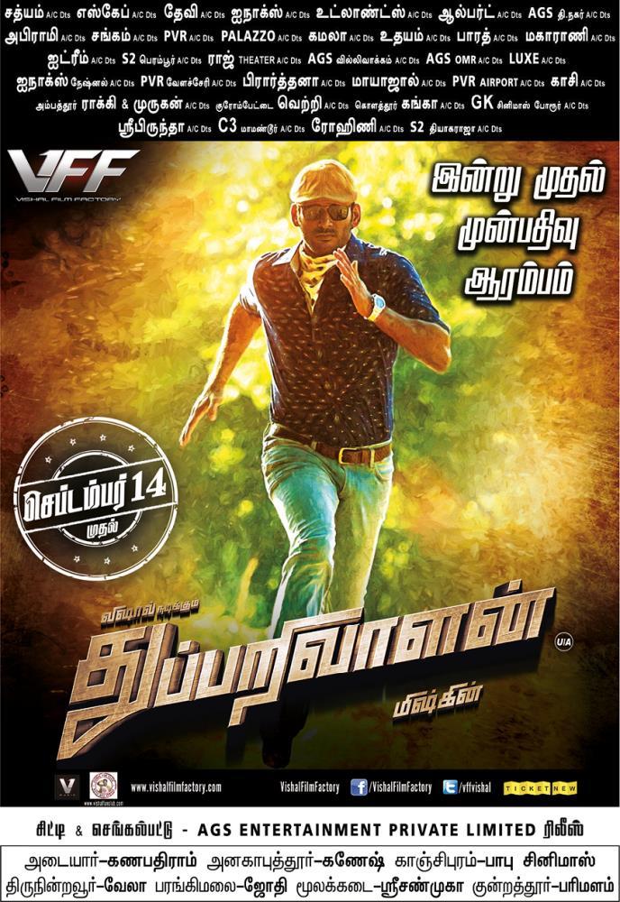 Thupparivaalan Movie Posters - HD Images - HQ Stills 5