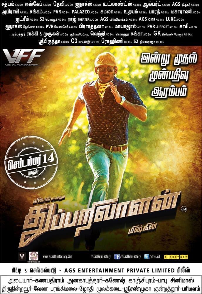 Thupparivaalan Movie Posters - HD Images - HQ Stills 8