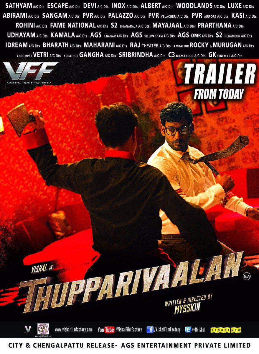 Thupparivaalan Movie Posters - HD Images - HQ Stills 3