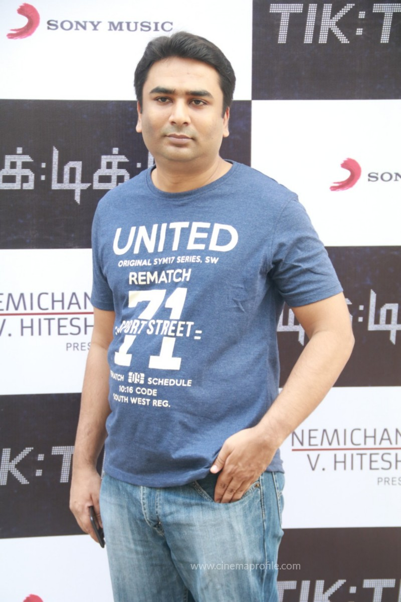 Jayam Ravi's Tik Tik Tik Movie Audio Launch photos | Song Release Stills 6