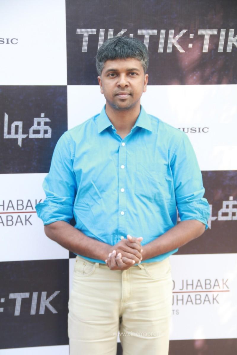Jayam Ravi's Tik Tik Tik Movie Audio Launch photos | Song Release Stills 11