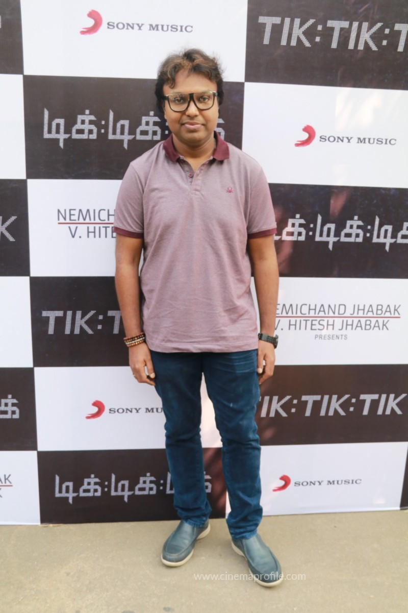 Jayam Ravi's Tik Tik Tik Movie Audio Launch photos | Song Release Stills 27