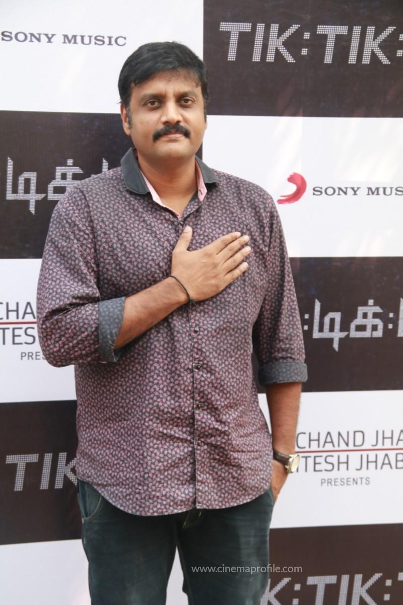 Jayam Ravi's Tik Tik Tik Movie Audio Launch photos | Song Release Stills 1