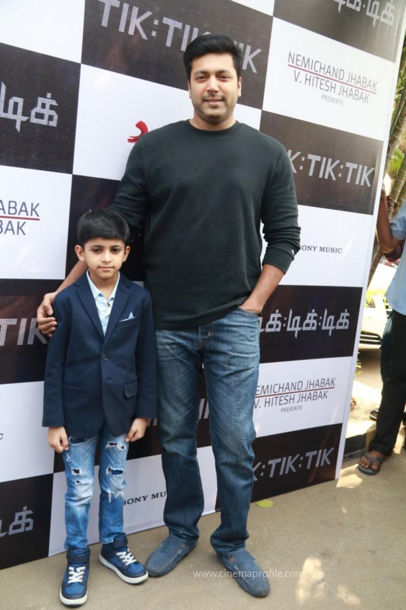 Jayam Ravi's Tik Tik Tik Movie Audio Launch photos | Song Release Stills 25