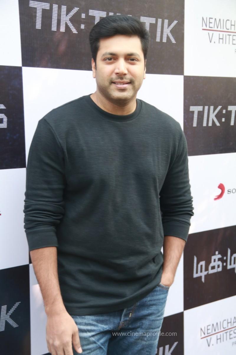 Jayam Ravi's Tik Tik Tik Movie Audio Launch photos | Song Release Stills 24