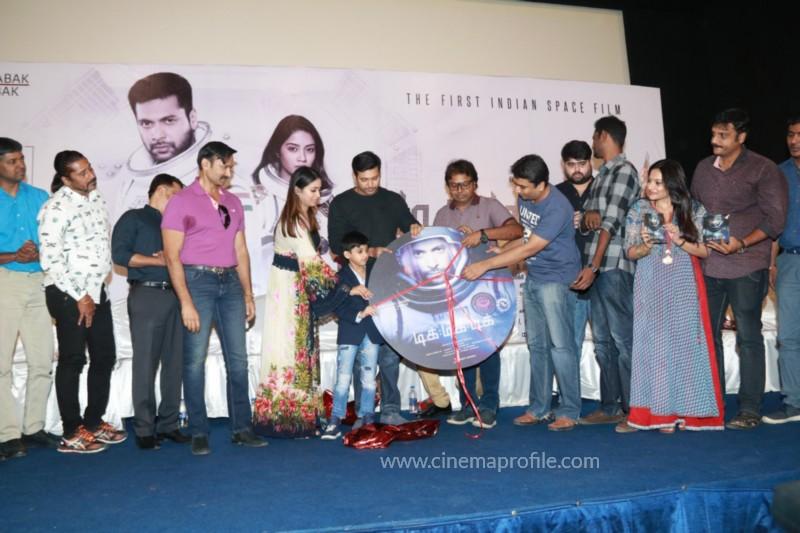 Jayam Ravi's Tik Tik Tik Movie Audio Launch photos | Song Release Stills 5