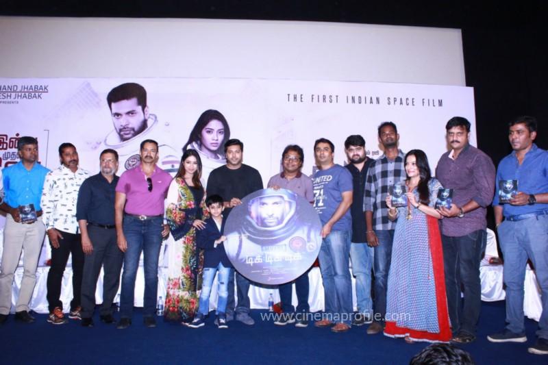 Jayam Ravi's Tik Tik Tik Movie Audio Launch photos | Song Release Stills 13