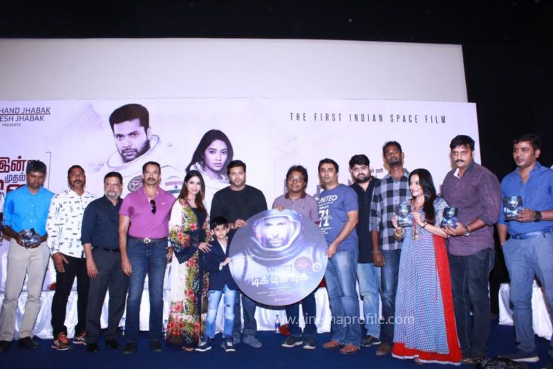 Jayam Ravi's Tik Tik Tik Movie Audio Launch photos | Song Release Stills 15