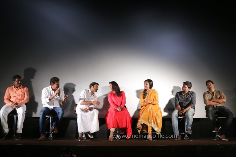 Dhanush's VIP2 Pressmeet Event Stills : Dhaanu, Kajol, AmalaPaul 2