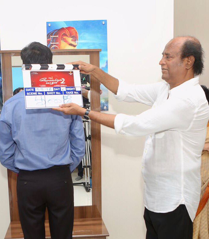 VIP 2 Movie KickStarted With Rajinikanth