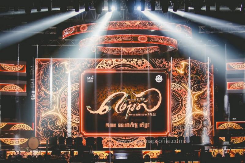 Mersal Audio Launch Live - Photos | Vijay | AR Rahman | Atlee | Dhanush | TSL 4