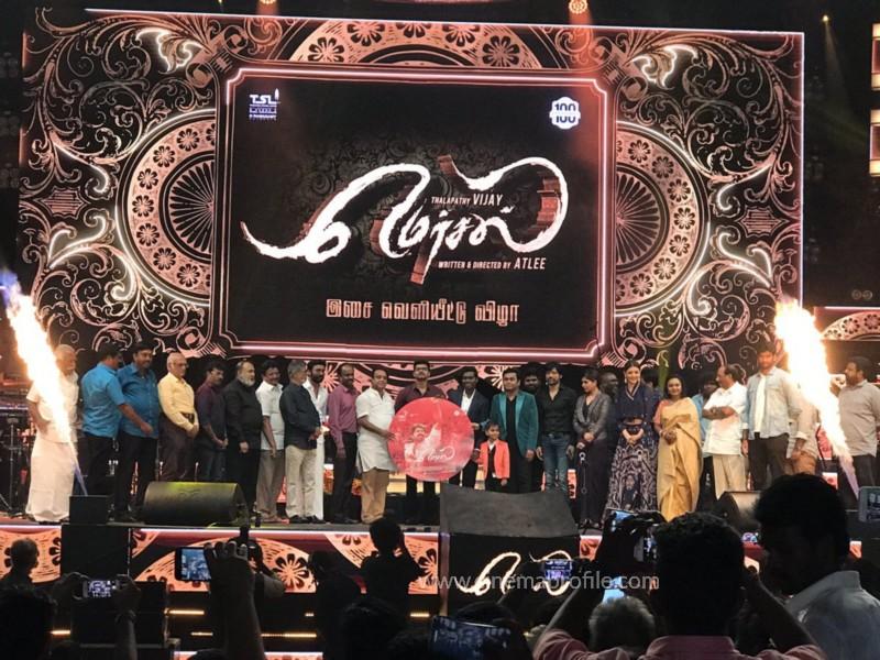 Mersal Audio Launch Live - Photos | Vijay | AR Rahman | Atlee | Dhanush | TSL 18
