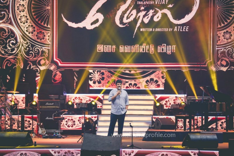 Mersal Audio Launch Live - Photos | Vijay | AR Rahman | Atlee | Dhanush | TSL 19