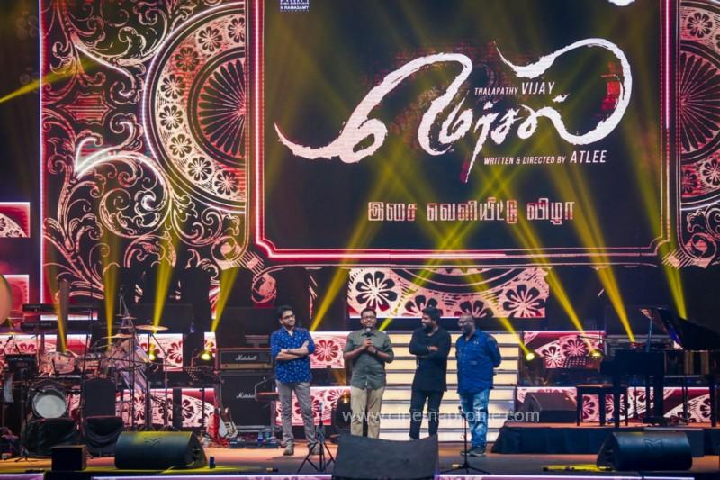 Mersal Audio Launch Live - Photos | Vijay | AR Rahman | Atlee | Dhanush | TSL 10