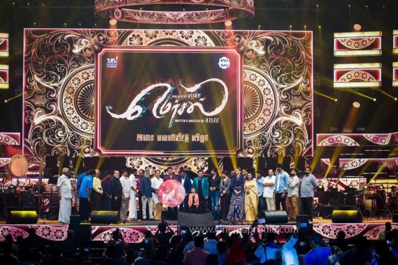 Mersal Audio Launch Live - Photos | Vijay | AR Rahman | Atlee | Dhanush | TSL 3