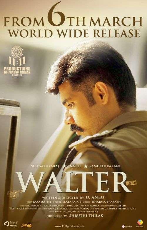 Walter Tamil Movie Posters 8