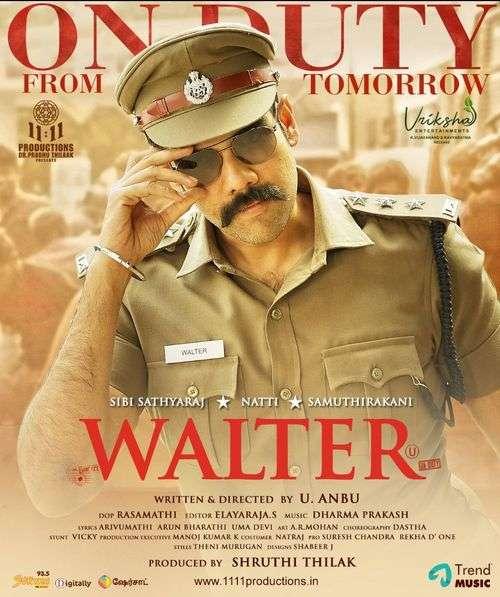 Walter Tamil Movie Posters 15