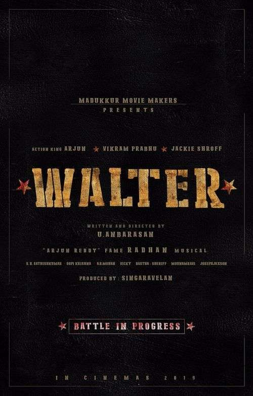 Walter Tamil Movie Posters 20