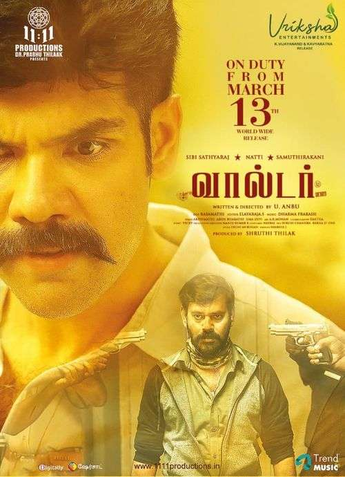 Walter Tamil Movie Posters 3