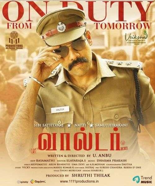 Walter Tamil Movie Posters 26