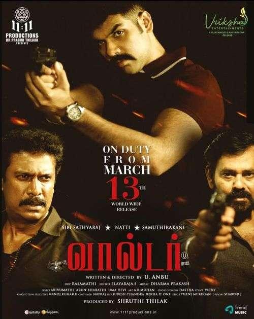 Walter Tamil Movie Posters 19