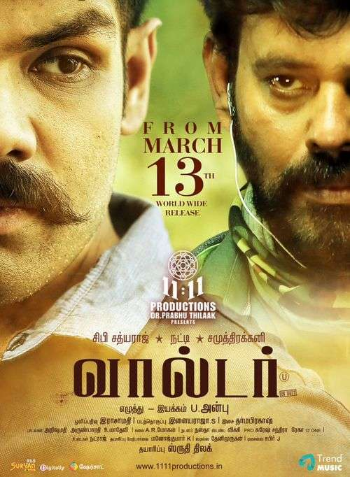 Walter Tamil Movie Posters 9