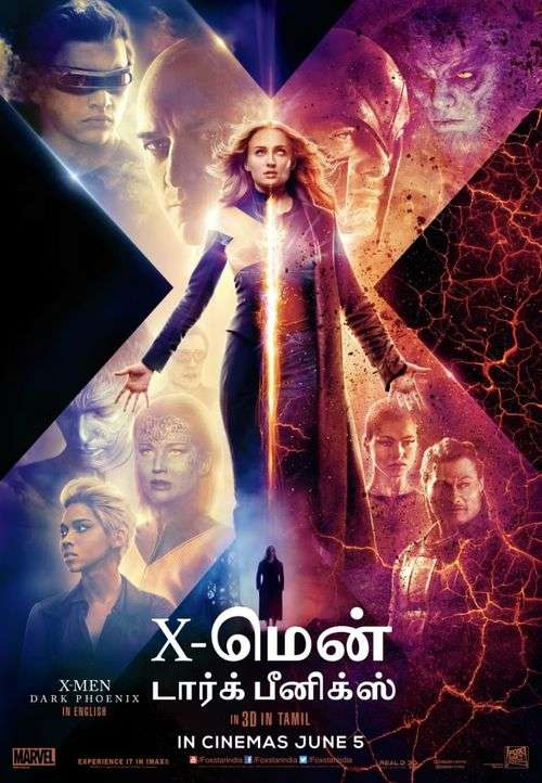 X-Men: Dark Phoenix Tamil Movie Live Review & Ratings