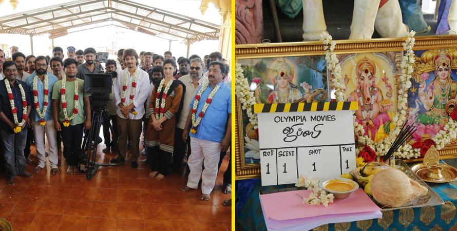 ஜீவா - ராஜு முருகனின் 'ஜிப்ஸி' படபிடிப்பு காரைக்காலில் தொடங்கியது