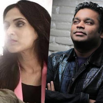 Aishwarya Dhanush teams up with AR Rehman