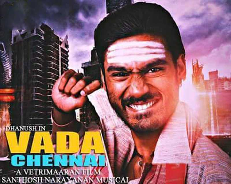Dhanush now heads to Vada Chennai sets