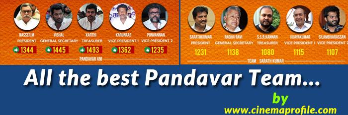 Nadigar Sangam Election - Live Cover Videos