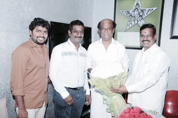 Rajinikanth dubs for Kabali | Kabali Tamil Movie News | Cinema Profile