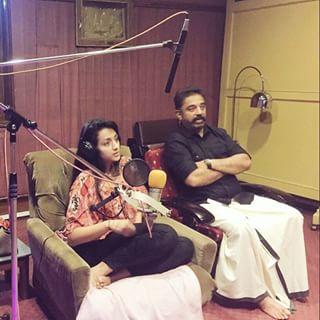Trisha dubs for Kamal's Thoongavanam