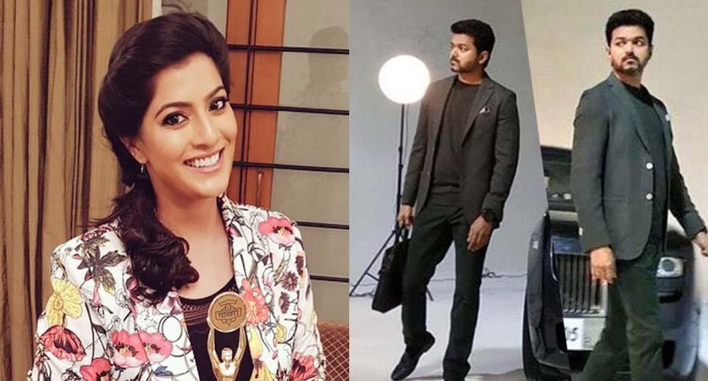 Varalakshmi Sarathkumar key role in Vijay62 !